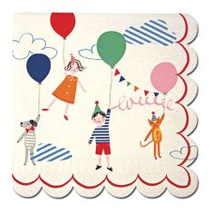Toot Sweet Children Small Napkins - Fairground Party Ideas - Party Ark £3.95