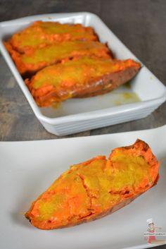 Patates douces farcies au cheddar cuisson Omnicuiseur