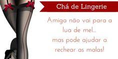 Pesquisas de Noiva: Download: Convite chá de lingerie
