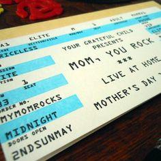 mom rock ticket
