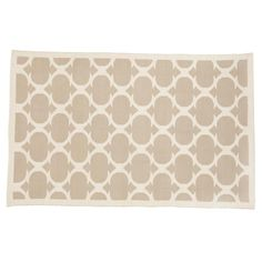 Land of Nod Woven Khaki Rug - lots of colors 8x10 or larger.