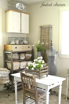 A blog about home decor, thrifting and more with a focus on DIY home projects that center around the french farmhouse style.