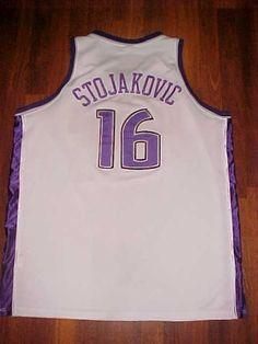 Reebok NBA Sacramento Kings Peja Stojakovic #16 White Basketball Jersey 56 Free #Reebok #SacramentoKings