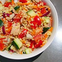 Tuna, Veggie & Couscous Salad by Nathan Small