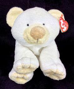 bf39c819e57 Ty Pluffies Cloud Polar Bear White 2002 NEW 10