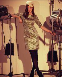 FEVER DRESSES RETRO 60s VINTAGE DRESS BARBARELLA