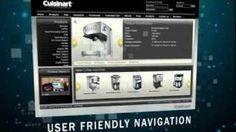 Cuisinart - Case study - Website design - Capricorn Digital, via YouTube.
