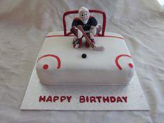 Wonderful Photo of Hockey Birthday Cake . Hockey Birthday Cake Hockey Goalie Birthday Cake All Bout Party Ideasthemes Hockey Hockey Birthday Cake, Hockey Birthday Parties, Birthday Sheet Cakes, Hockey Party, Sports Birthday, Happy Birthday Cakes, 10th Birthday, Birthday Ideas, Birthday Wishes For Teacher