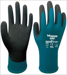 18 Gauge Sicherheit Handschuhe Nitril Sandy Getaucht Nylon Handschuh Palm Getauchte Gartenarbeit Arbeitshandschuh