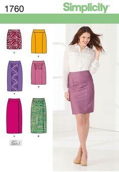 S1760 Misses' Skirts   by Karen Z