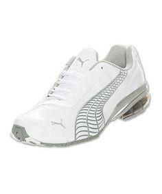 Look what I found on #zulily! White & Silver Metallic Cell Jago 8 V1 Sneaker - Women #zulilyfinds