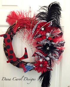South Carolina Gamecocks Team Spirit Wreath