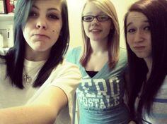My 2 bestfriends, Desiree and Ashley<3