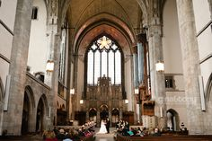 Fall wedding in Chicago. The wedding ceremony was at the Rockefeller Chapel and the reception was at the Quadrangle Club at the University of Chicago. Wedding Venues Toronto, Wedding Reception Venues, Best Wedding Venues, Wedding Ideas, Wedding Book, Dream Wedding, Wedding Stuff, Wedding Rings, Hyde Park Chicago