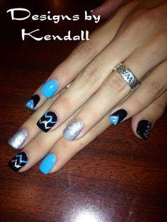 Got nails done today. Sooo cute go see Kendal at La Bella Nail Salon!!