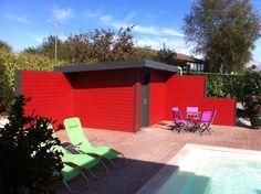 pool house ossature bois - Savoie -France