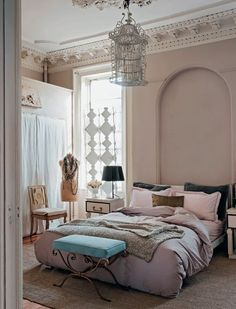 blush bedroom, but I love that #Bed Room #BedRoom