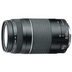 Canon EF 75-300mm f/4-5.6 III Telephoto Zoom Lens for Canon SLR Cameras - http://slrscameras.everythingreviews.net/11376/canon-ef-75-300mm-f4-5-6-iii-telephoto-zoom-lens-for-canon-slr-cameras.html