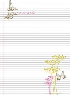 free printables stationary