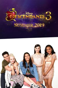 #Disney Channel Announces #Descendants3 for #Summer2019