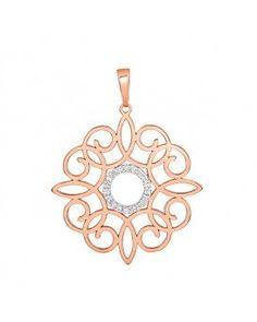 Clave Historica Diamond Pendant