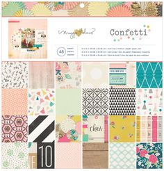 COMING SOON!!! Crate Paper Confetti Collection by Maggie Holmes in Scrap-n-Crop.com