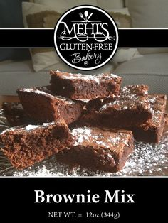 Best brownie mix out there, gluten-free or not!