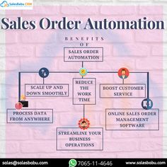 Benefits of Sales Order Automation -Scale up and down smoothly -Reduce the work time -Boost customer service -Process data from anywhere -Streamline your Business Operations -Online Sales Order Management software Customer Complaints, Business Operations, Small Business Solutions, Tracking App, Customer Relationship Management, Cloud Based, Start Up Business, Sales And Marketing, Online Sales
