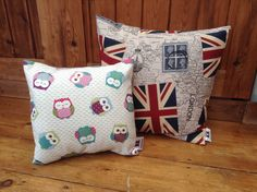 A couple of new makes for the Greenwich Market small owl £10 med Union Jack £15 x