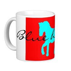blue horse (eliso) taza clásica
