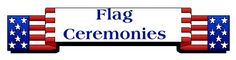 flag ceremony info for scouts.