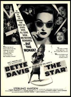 The Star, 1952 - Bette Davis, Sterling Hayden, Natalie Wood