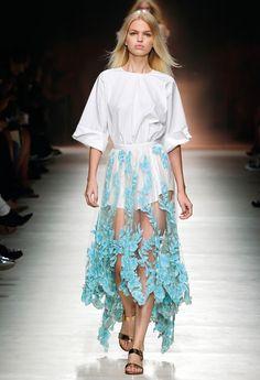 Blumarine SS 2015 Fashion Show Collection #mfw