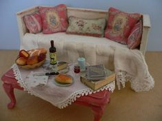 One Inch Scale Dollhouse Miniature Shabby by StorybookMiniatures