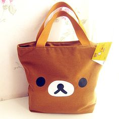 rilakkuma lunch bag