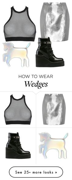 """Untitled #101"" by tharealjuicedup on Polyvore featuring Yves Saint Laurent, Dsquared2, Puma and WithChic"