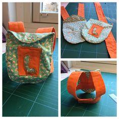 Så då har man tillverkat en ryggsäck åt 36 cm docka