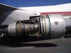 Pratt and Whitney Jet Engines | Pratt & Whitney JT9D, Prototype Boeing 747 'City of Everett' N7470