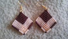 forget-me-knot Macrame Earrings, Macrame Jewelry, Drop Earrings, Knots, Forget, Ideas, Ear Rings, Rings, Ears