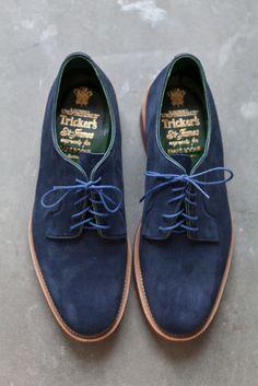 #trickers #suede #footwear #menswear #laceup