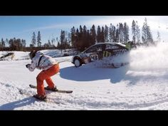 Best video you will see today, bar none. New Go Pro advert featuring hundreds of cameras, Russian Snow and one Ken Block. #Ford #Kenblock #snow