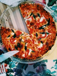 Spinach pizza (T.Z.)