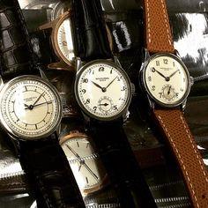 Ninety-six trio #vintagepatek #パテック #パテックフィリップ #patekcollector #patek #patekholic #patekgallery #patekphilippe #johnbehalf #calatrava