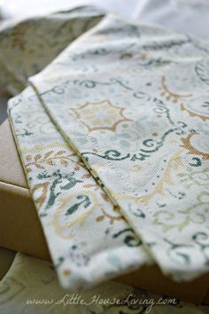 Learn to make some very simple placemats to grace your table!