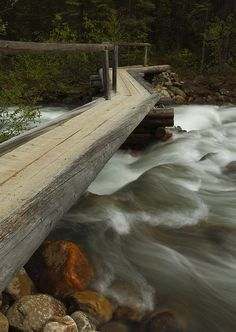 Bridge Over Portal Creek by Darren B15, via Flickr