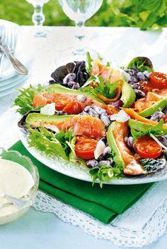 Lohisalaatti anjoviskastikkeeella | K-ruoka