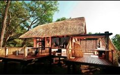 Chamilandu is the smallest of the Bushcamp Company's bush camps, located in a remote area in the South Luangwa National Park, Zambia Game Lodge, River Lodge, Birds Eye View, Home And Away, Lodges, Habitats, Safari, Remote, National Parks