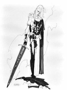 Mike Mignola - Elric sketch