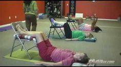 Part 4 of 5: Tuesday Chair Yoga @ Aradhikas.com, via YouTube.