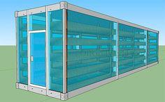 Solar Powered Vertical Garden: A Stackable & Portable Greenhouse Aquaponics Garden